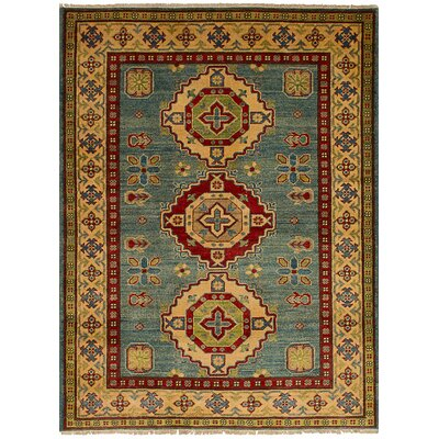 Bernard Hand-Knotted Wool Sky Blue Area Rug