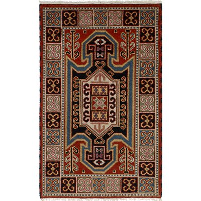 Berkshire Hand-Knotted Wool Dark Copper Area Rug