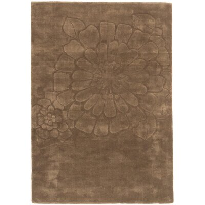 Mountville Hand Tufted Wool Olive Area Rug