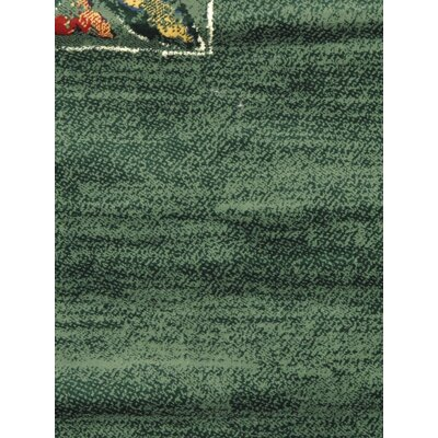 Seamus Dark Green Area Rug
