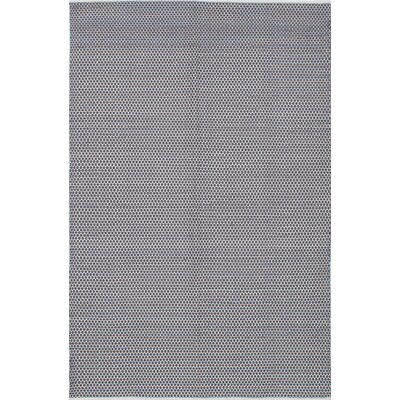 Loucas Wool Dark gray Area Rug