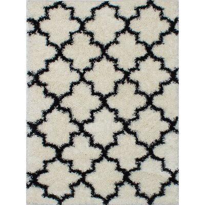 Lucinda Shag Cream Area Rug