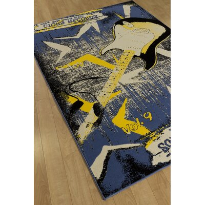 Hartwick Blue Area Rug