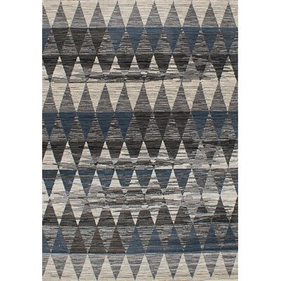 Cora Rectangle Cream/Dark Gray Area Rug