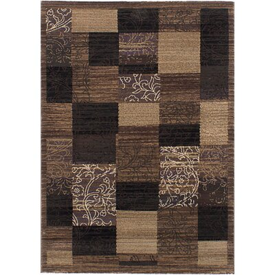 Bessemer Black/Brown Area Rug