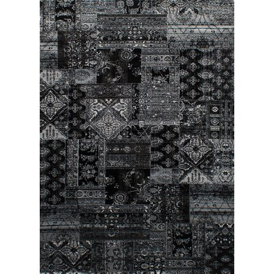 Bessemer Black/Light Gray Area Rug