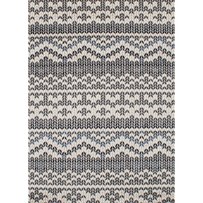 Harrelson Cream/Dark Gray Area Rug