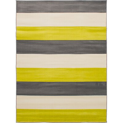 Cora Cream/Dark Gray Area Rug
