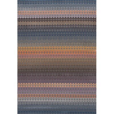 Corazon Blue/Copper Area Rug