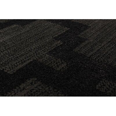 Rebbeca Black/Dark Gray Area Rug