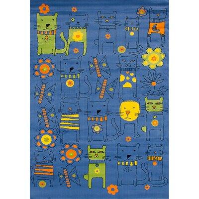 Luann Slate Blue Area Rug
