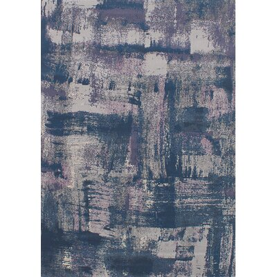 Harrisburg Dark Gray/Blue Area Rug