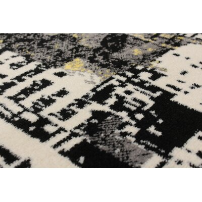 Harford Black/Cream Area Rug
