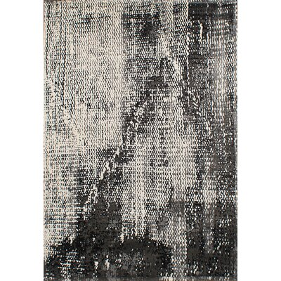 Ayaan Cream/Dark Gray Area Rug