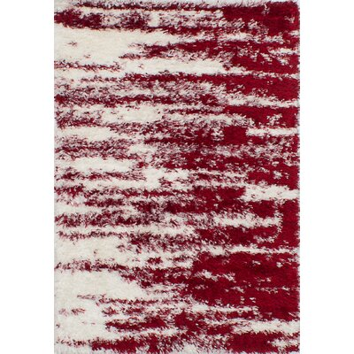 Cordie Cream/Red Area Rug