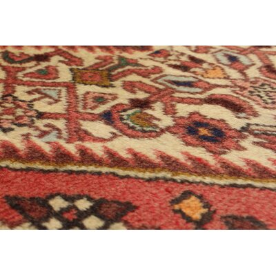 Roth Hand-Knotted Wool Cream/Dark Copper Indoor Area Rug