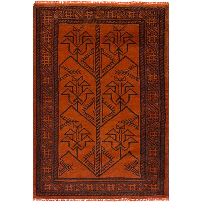Finnegan Hand-Knotted Wool Brown Indoor Area Rug