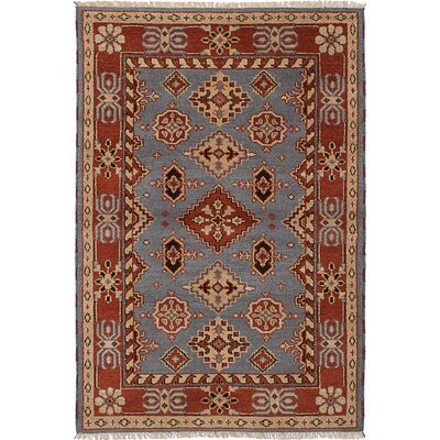 Berkshire Hand-Knotted Wool Gray Indoor Area Rug