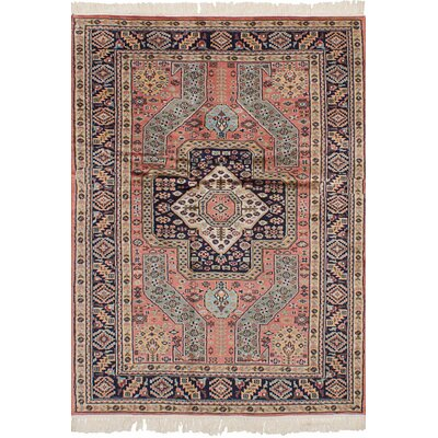 One-of-a-Kind Orangetree Hand-Knotted Wool Copper Indoor Area Rug