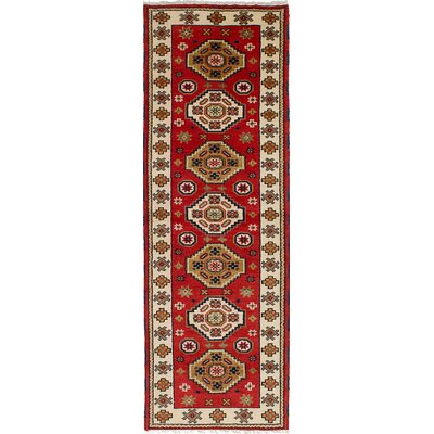 Berkshire Hand-Knotted Wool Dark Copper Geometric Indoor Area Rug