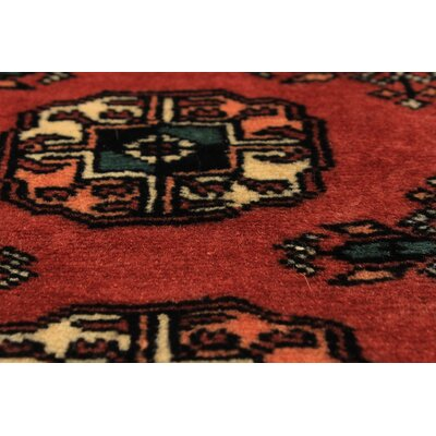 Olney Springs Hand-Knotted Wool Dark Copper Indoor Area Rug