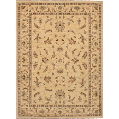 Charlena Hand-Knotted Wool Ivory Indoor Area Rug