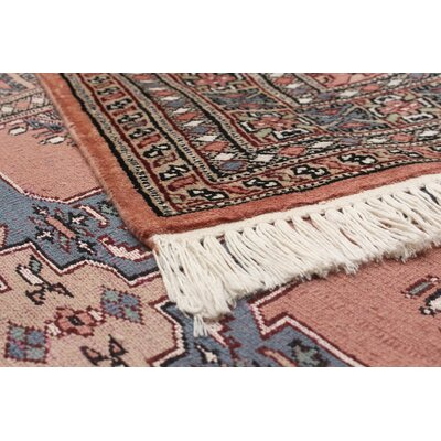 Onondaga Hand-Knotted Wool Copper Indoor Area Rug