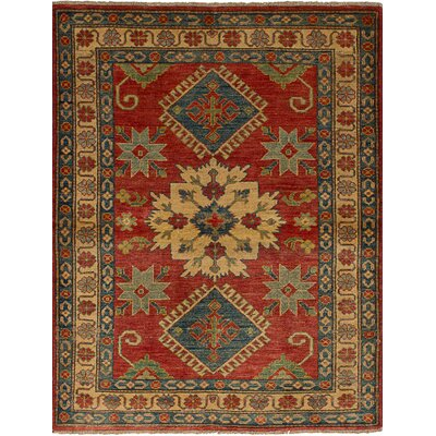 Bernard Hand-Knotted Wool Dark Copper Indoor Area Rug