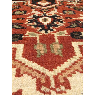 Larsen Hand-Knotted Runner Wool Copper Area Rug