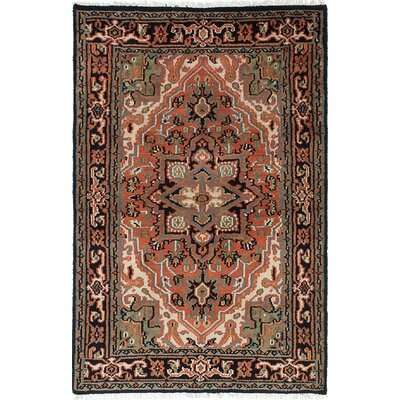 Larsen Hand-Knotted 100% Wool Copper Area Rug Rug Size: 311 x 511