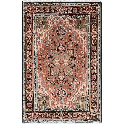 One-of-a-Kind Larsen Hand-Knotted Wool Copper Area Rug