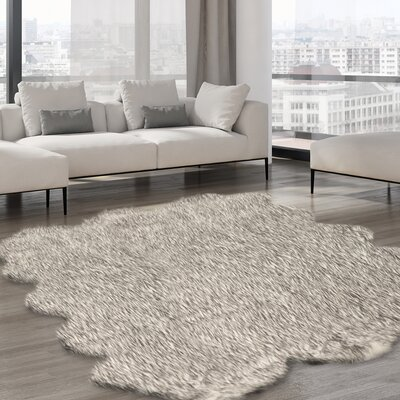 Alli Gray Tip Area Rug