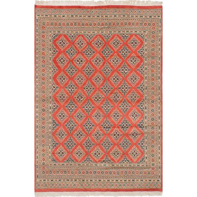 One-of-a-Kind Lela Handmade Wool Copper Area Rug