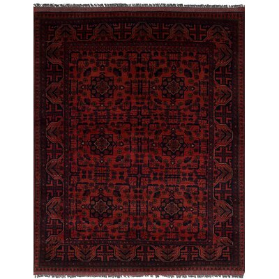 One-of-a-Kind Lelia Handmade Wool Dark Copper Area Rug