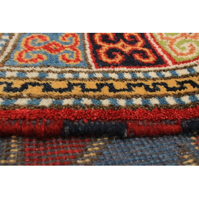 One-of-a-Kind Lesa Handmade Wool Red Area Rug