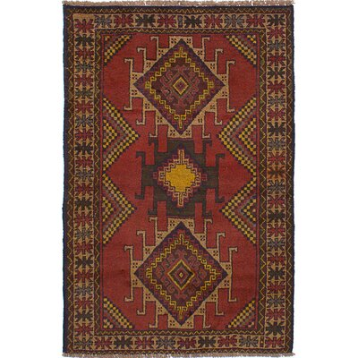 One-of-a-Kind Lillie Handmade Wool Dark Copper Area Rug