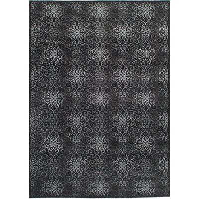 Barletta Black Area Rug