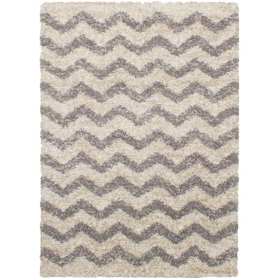 Bergevin Dark Gray/Ivory Area Rug