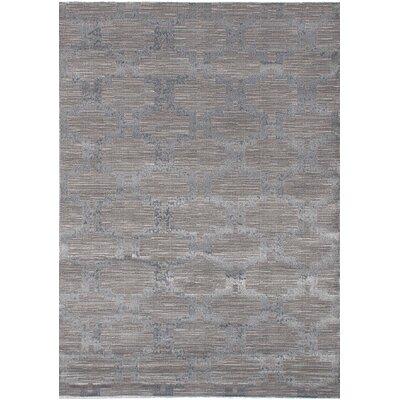 Finian Gray Oriental Area Rug