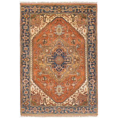 ne-of-a-Kind Lenita Handmade Wool Dark Copper Area Rug