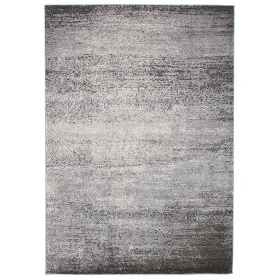 Faustine Gray Oriental Area Rug