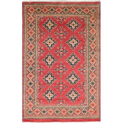 One-of-a-Kind Lela Handmade Wool Red Area Rug