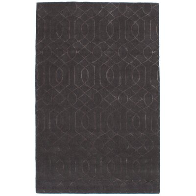 Hardaway Hand-Tufted Dark Gray Area Rug