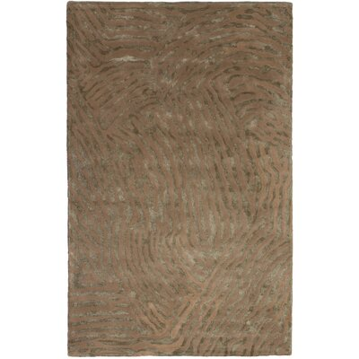 Parsley Hand-Tufted Brown Area Rug