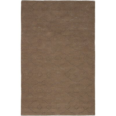 Metzinger Hand-Tufted Tan Area Rug