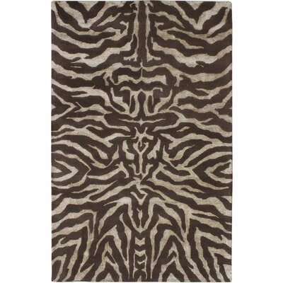 Parsley Hand-Tufted Dark Gray/Light Khaki Area Rug