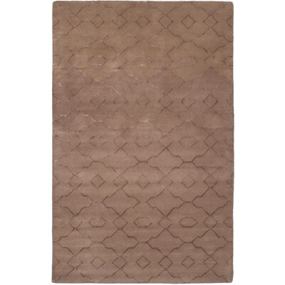 Metzinger Hand-Tufted Brown Area Rug
