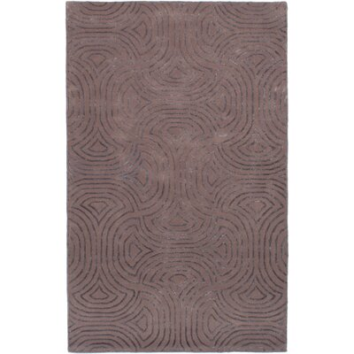 Helton Hand-Tufted Brown Area Rug