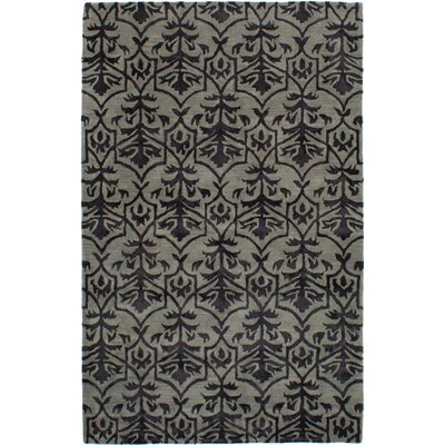 Metzinger Hand-Tufted Gray Area Rug