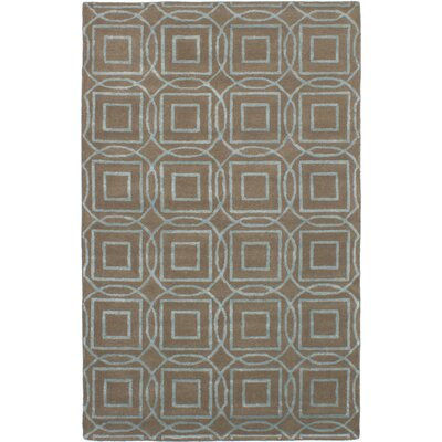 Hardaway Hand-Tufted Tan Area Rug